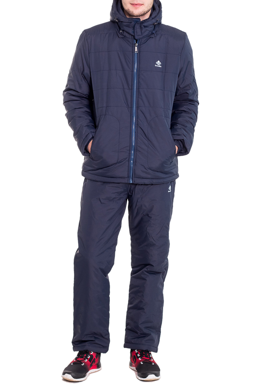 КостюмКуртки<br>Мужской костюм состоит из куртки и брюк. Модель выполнена из плотной болоньи.   Цвет: синий  Рост мужчины-фотомодели 182 см<br><br>По сезону: Осень,Весна<br>Размер : 46,50<br>Материал: Болонья<br>Количество в наличии: 2