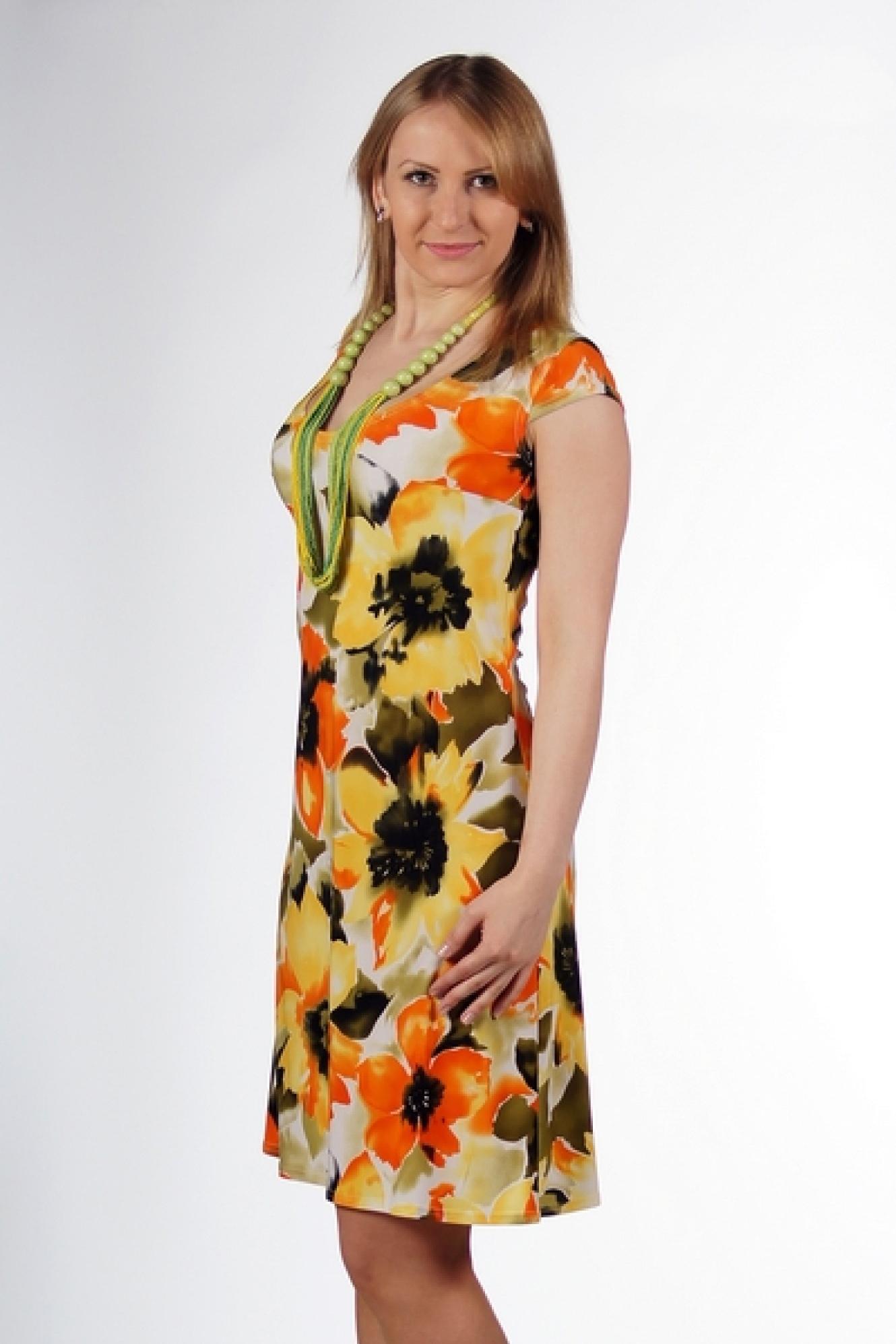 Платья из летнего трикотажа
