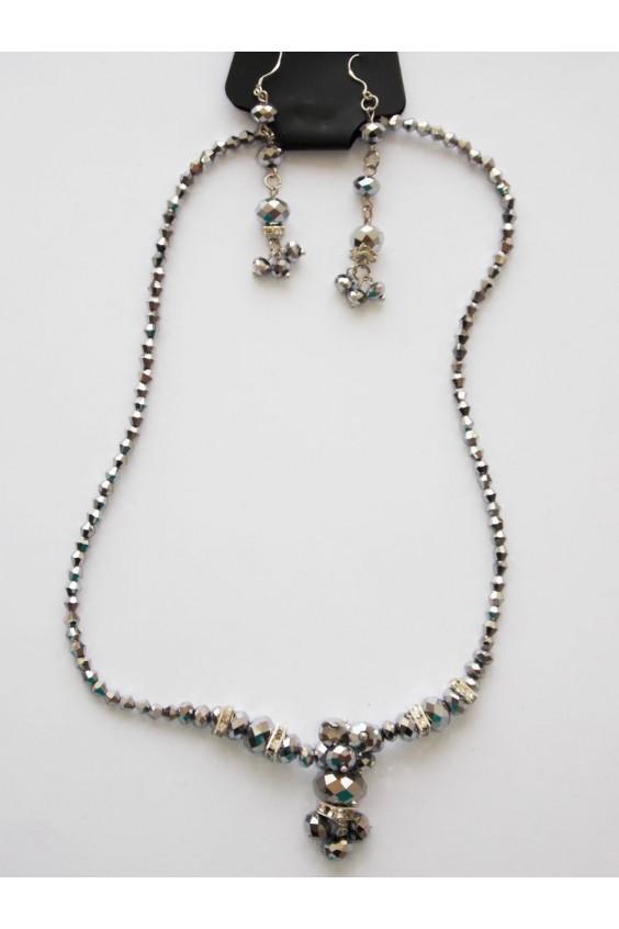 Комплект (ожерелье+серьги) Российское швейное производство LacyWear 270.000