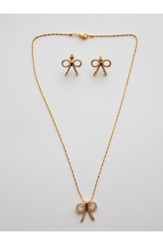 Комплект (ожерелье+серьги) Российское швейное производство LacyWear 430.000