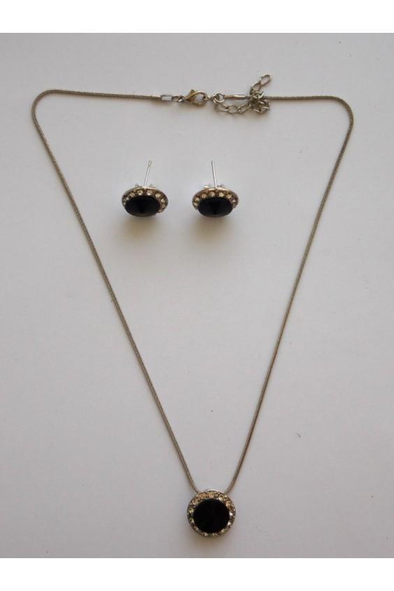 Комплект (ожерелье+серьги) Российское швейное производство LacyWear 330.000