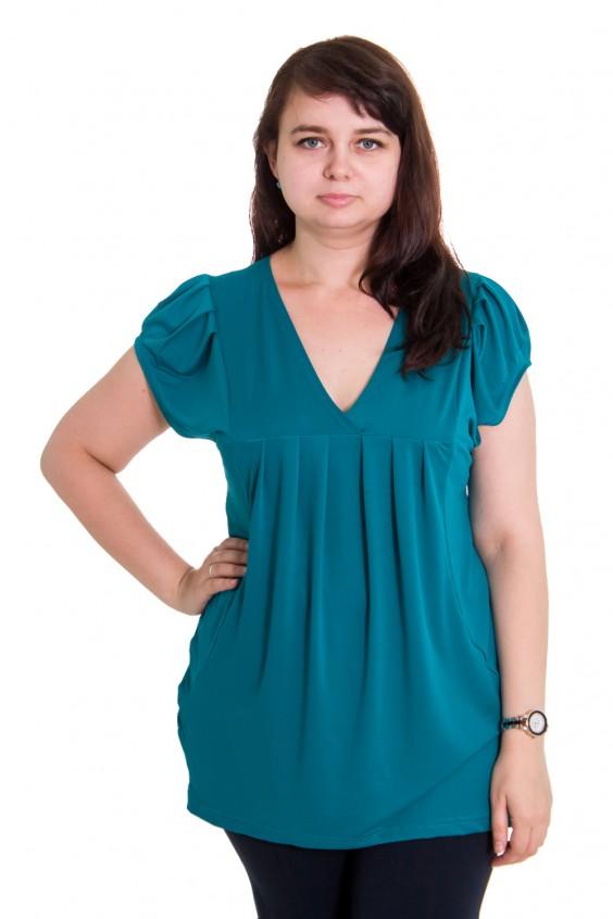 Блузка женственная