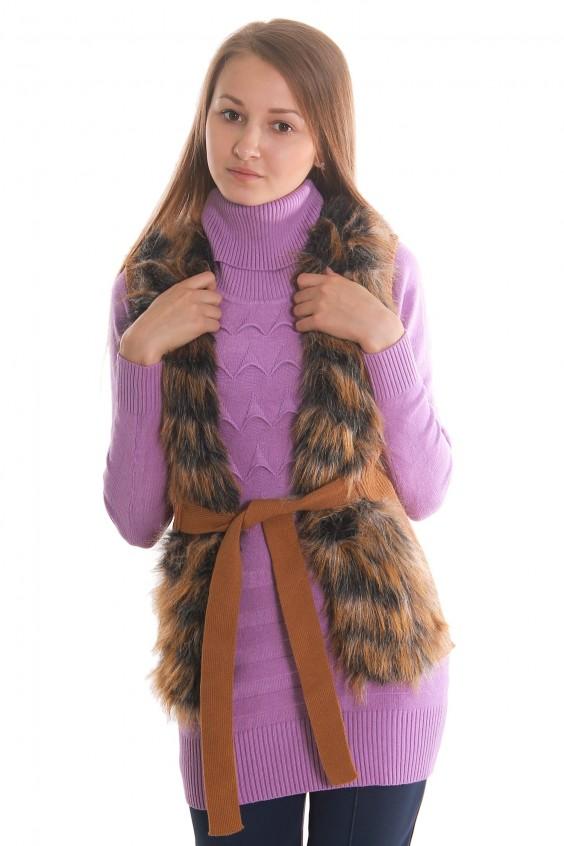 Меховой жилет Российское швейное производство LacyWear 1440.000
