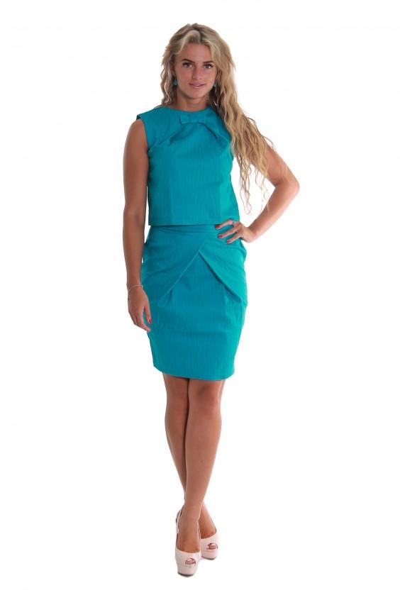 Костюм (блузка+юбка) Российское швейное производство LacyWear 1990.000