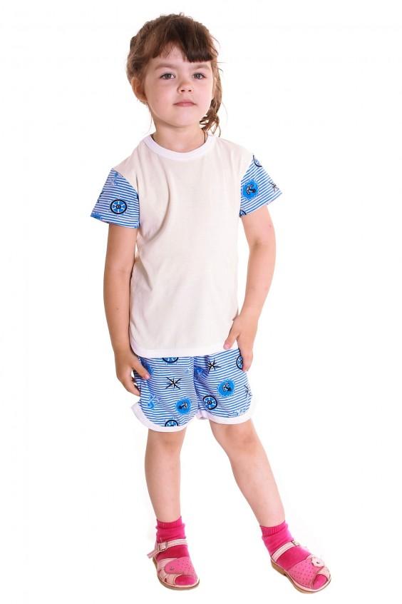 Костюм (футболка+шорты) Российское швейное производство LacyWear 150.000