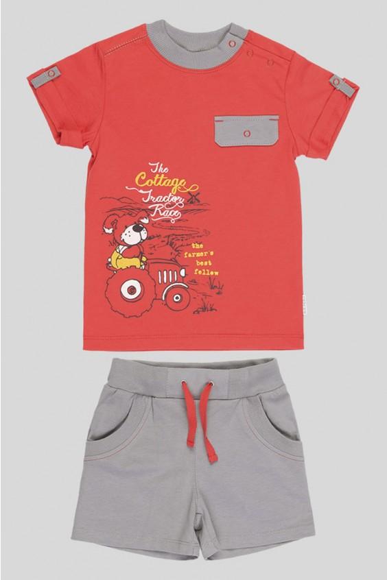 Костюм (футболка+шорты) Российское швейное производство LacyWear 940.000