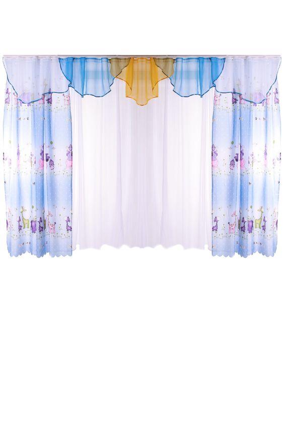 Шторы для комнаты Российское швейное производство LacyWear 2640.000