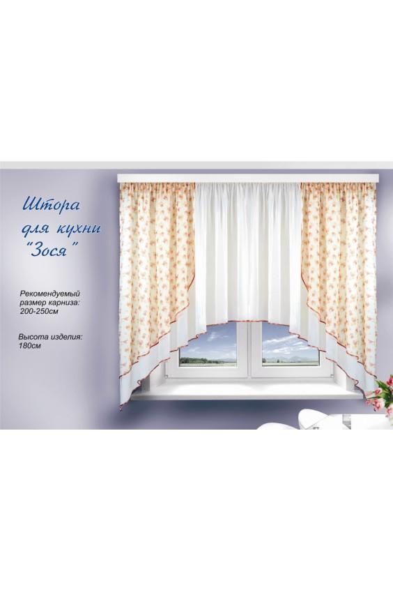 Штора для кухни Российское швейное производство LacyWear 1590.000