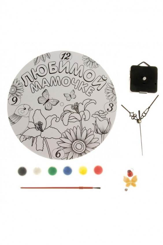 Часы-раскраска Российское швейное производство LacyWear 195.000