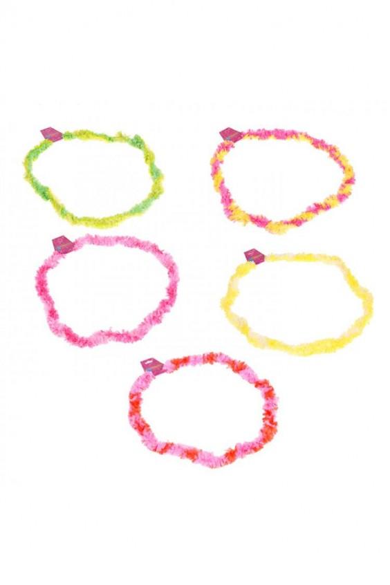 Ожерелье гавайское цветное
