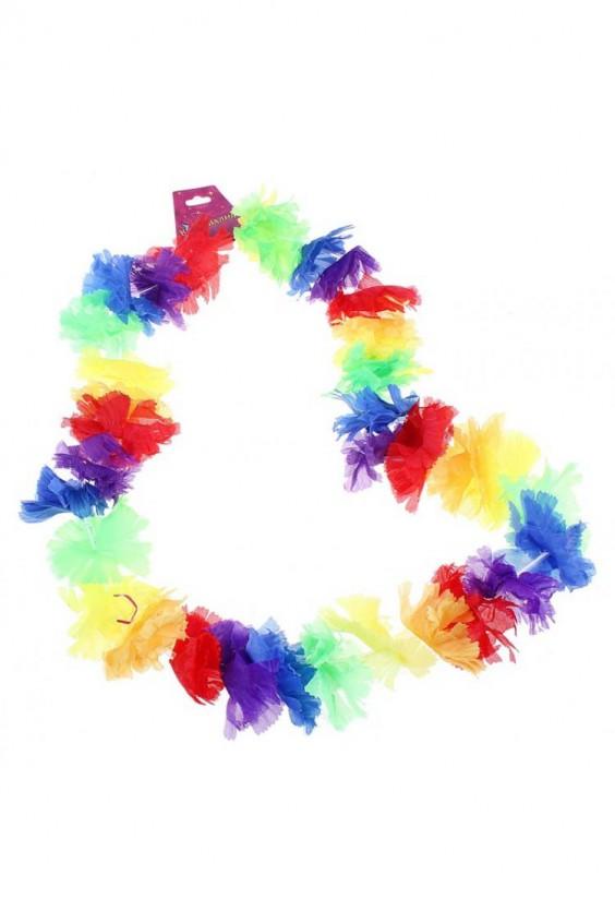 Ожерелье гавайское многоцветное